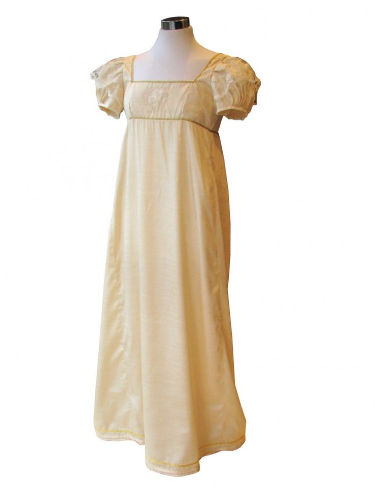 Ladies Regency Evening Ballgown Costume Size 6 - Complete Costumes, Costume Hire