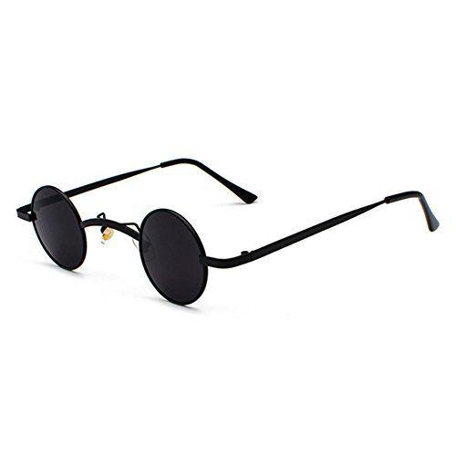 563ec52c77453c Neue Stil Trend Sonnenbrille Punk Retro Kleine Runde Gläser Street Rock  Street Travel Brille Unisex.