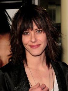 Katherine Moennig Layered Medium Haircut