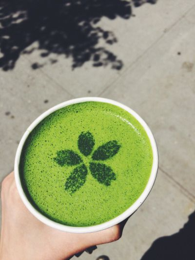 Have a glorious matcha latte from Matcha Cafe Wabi in East Village. The latte art is so photogenic, you won't want to cover your cup.