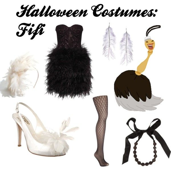 """Halloween Costumes: Fifi (Beauty and the Beast)"" by turquoiseivy on Polyvore"