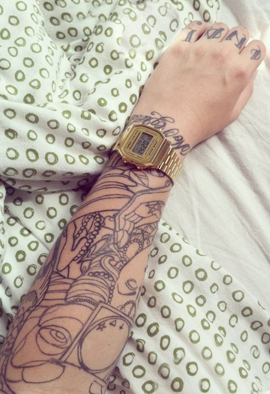 tattoo watch