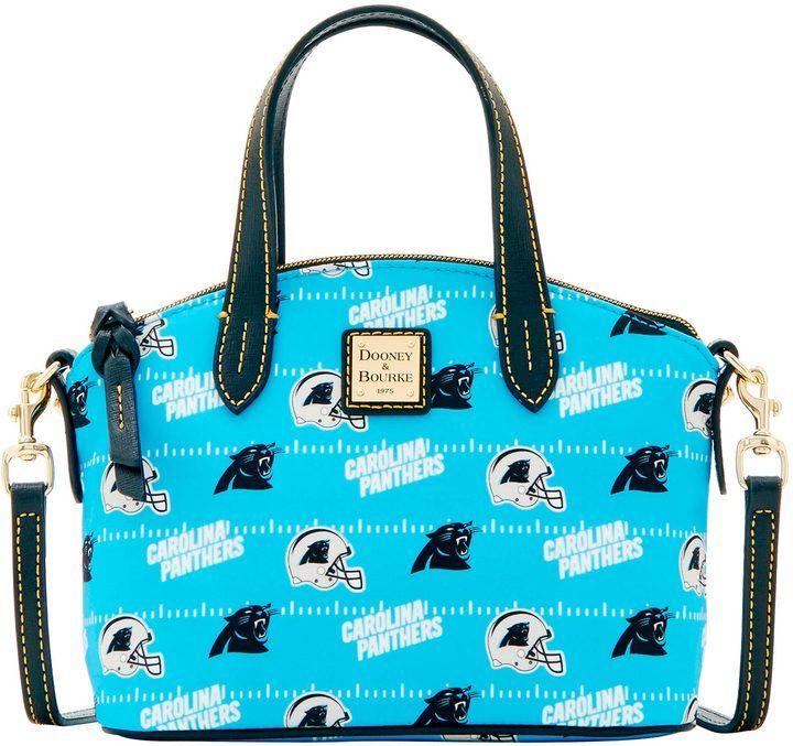 Dooney & Bourke NFL Panthers Ruby Top Handle Bag