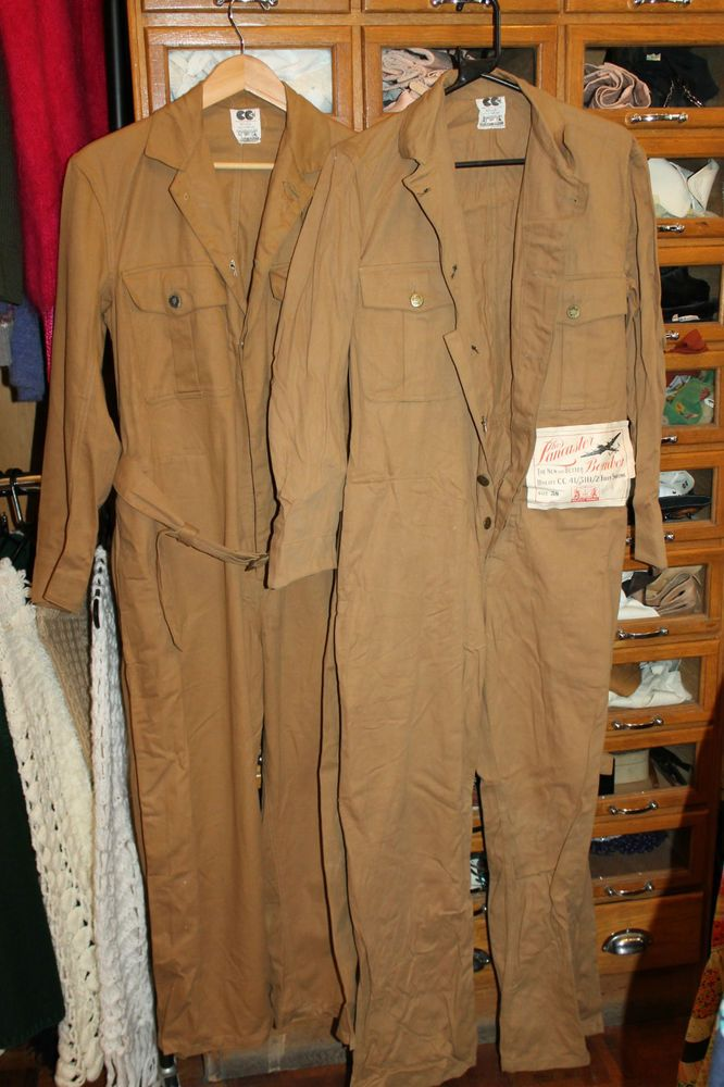 2X Pairs Workwear 1940s WW2 Overalls CC41 HOLDFAST ...