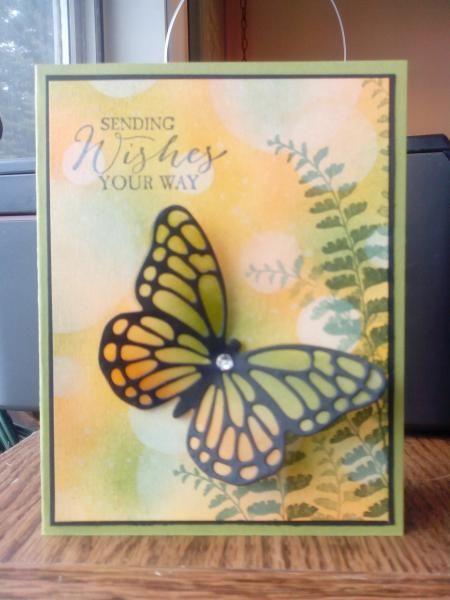 Bokeh background by Arlene Mantle - Cards and Paper Crafts at Splitcoaststampers
