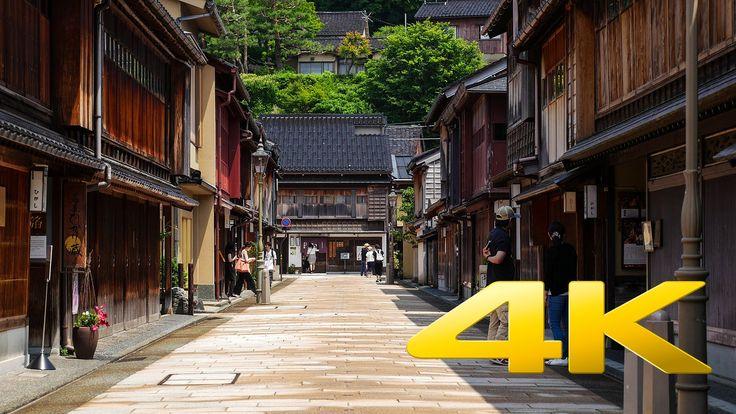 Ishikawa Kanazawa Higashi Chaya - 東茶屋街 - 4K Ultra HD