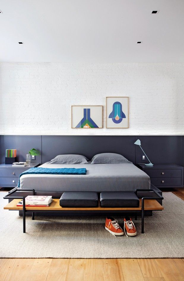 São quartos com estilos diferentes, mas algo em comum: o conforto. Misturas precisas de padrões e texturas e móveis bem pensados determinam o sucesso desses projetos