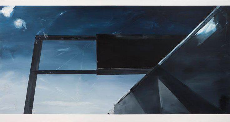 Carla Klein, Untitled, 2008, Oil on canvas, 190 x 360 cm