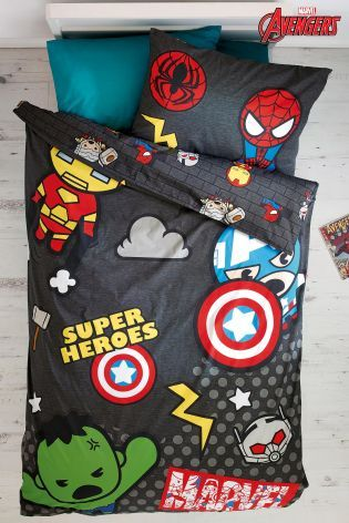 Buy Marvel Avengers Bed Set from the Next UK online shop Super Hero shirts, Gadgets