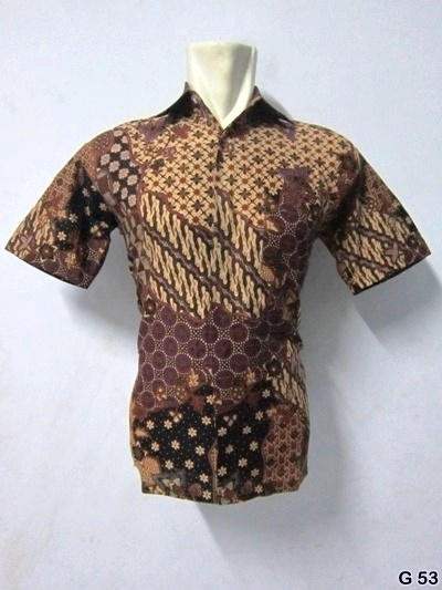 KODE G53 | IDR 70.000 | Bahan : katun prima, batik sablon kombinasi | Size M, L, XL | Hotline : 081333303545 | BB Pin 2128117C.