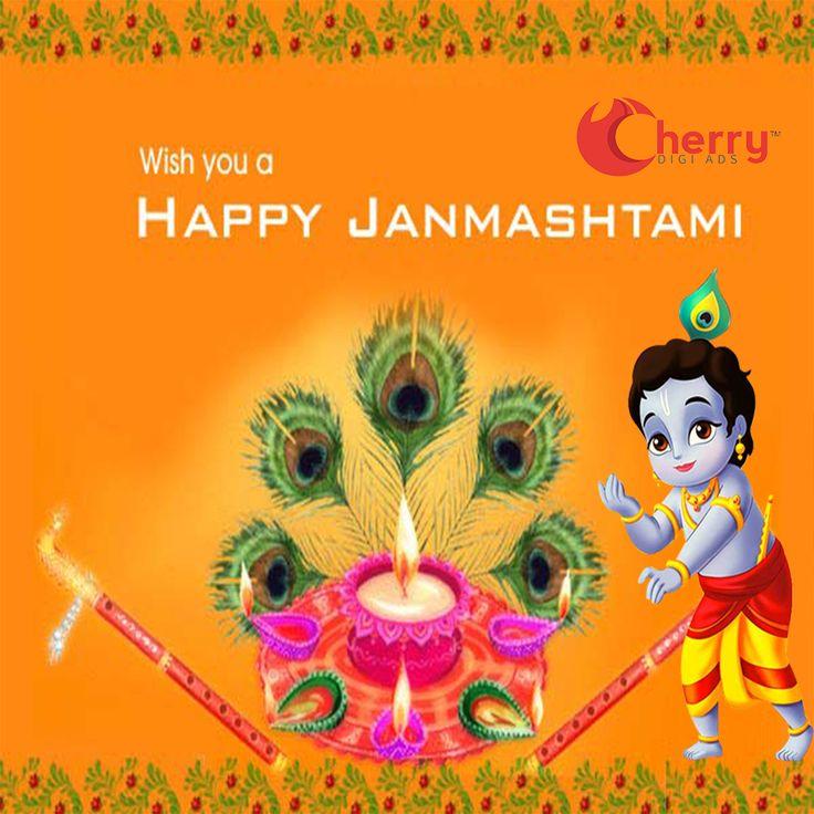 May Lord Krishna fulfill all your wishes..Happy Janmashtami