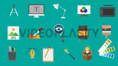Design Pack 16 Flat Icons