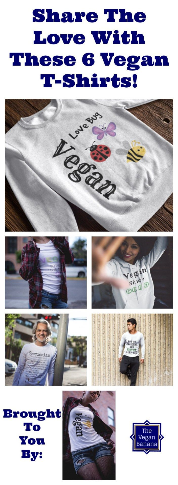 6 Awesome Vegan T-Shirts