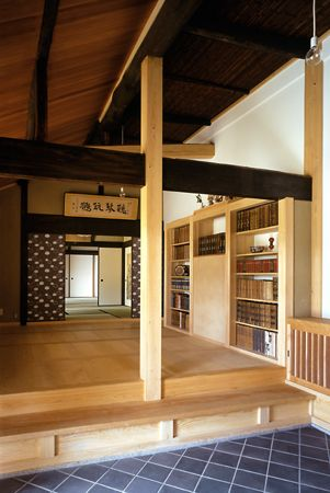#Japan renewal of a traditional folk house: I would love to live in a house like this.