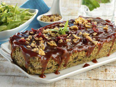 Pastel de Carne Vegetariano con Granola   Cuida tu salud y la de tu familia con…