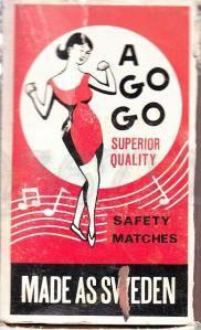 A Go GO Superior Quality Safety Matches Made as Sweden