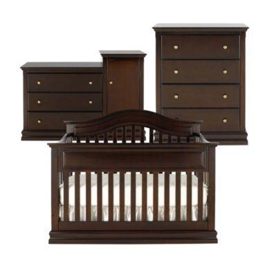 Savanna Tori 3 Pc Baby Furniture Set Espresso Found At