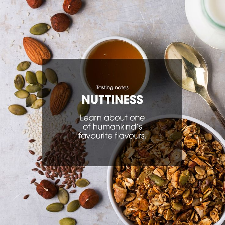 Learn about one of humankind's favourite flavours. #nuts #nuttiness