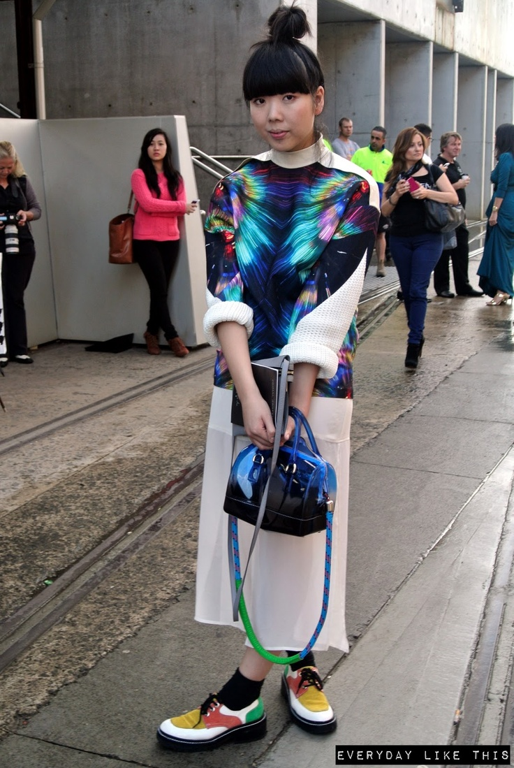 everyday like this: DAY 2 MBFWA - STREET STYLE Susie Bubble from Uk fashion blog Style Bubble