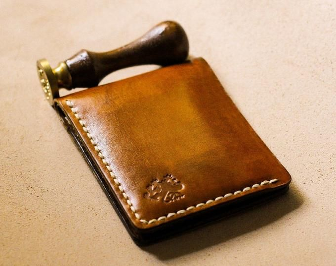 Business card case, Leather card holder, Credit card holder, Minimalist wallet, Wallets for men, Men