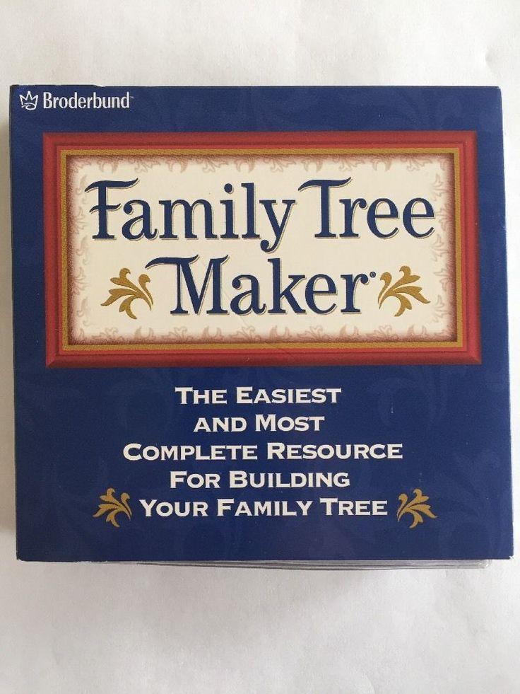 Family Tree Maker Version 8 Album 1 Family History Finder Death Index Broderbund #Broderbund