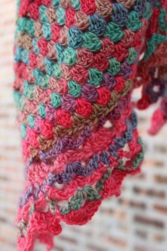 69 besten Granny Square Crochet Patterns Bilder auf Pinterest ...