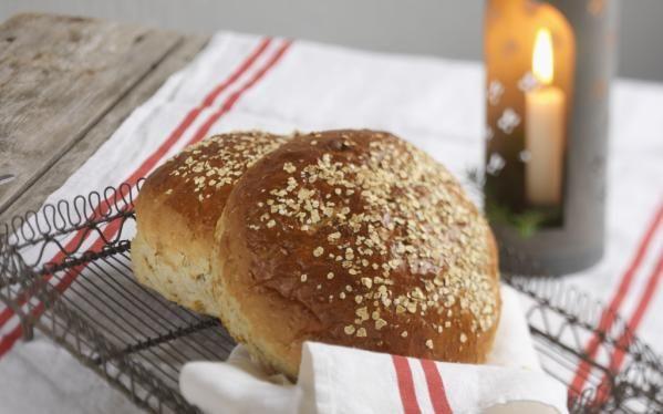Oppskrift på Brød med smak av epler og kanel