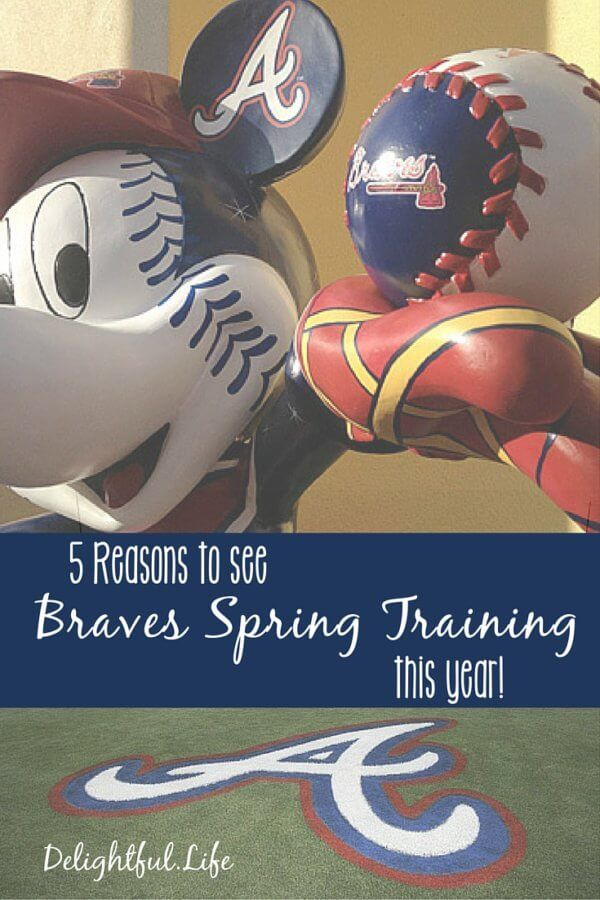 5 Reasons to see Braves Spring training at Disney World