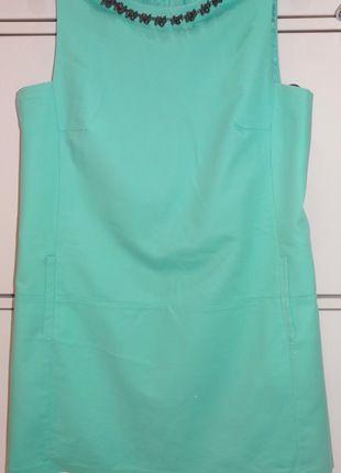 Kup mój przedmiot na #vintedpl http://www.vinted.pl/damska-odziez/sukienki-wieczorowe/12386819-sukienka-mietowa-z-bizuteria-przy-dekolcie