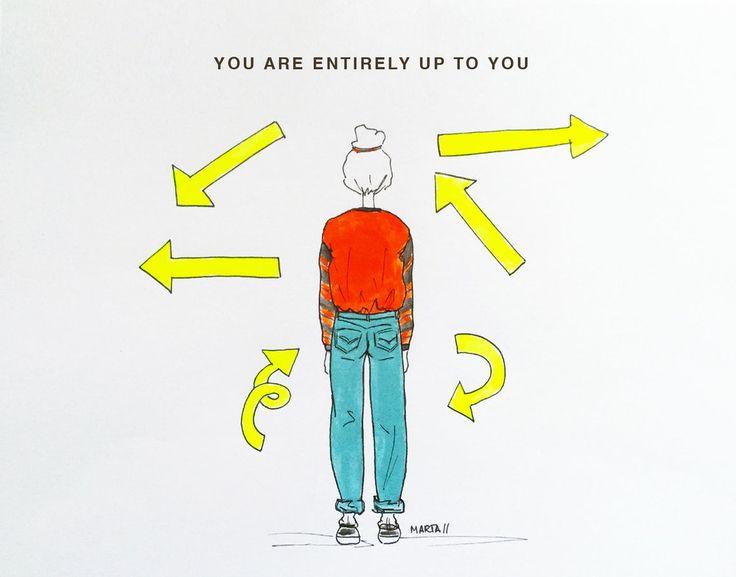 Up to you by Marta Scupelli • www.stripe-me.com