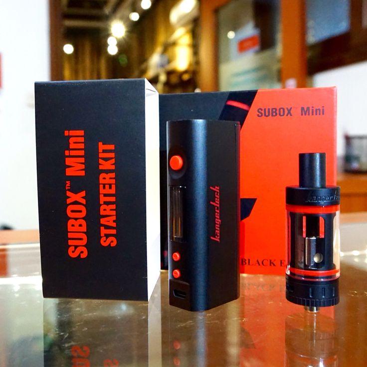 Kangertech Subox Mini Starter Kit.   #personalvaporizer #vaporizer #kangertech #subox #suboxmini