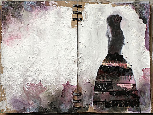 mixed media by dorotadolega http://www.flickr.com/photos/83336905@N08/