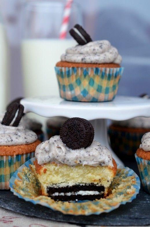cupcakes cu oreo