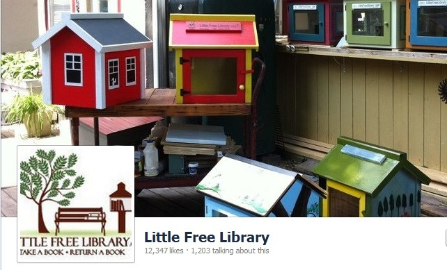 Find out about Little Free Library on their Facebook page.