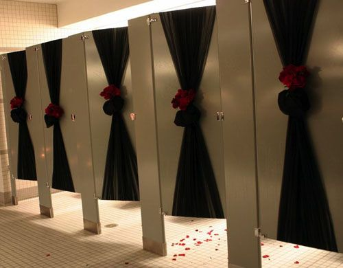 1000 images about wedding reception event decor on for Wedding reception bathroom ideas