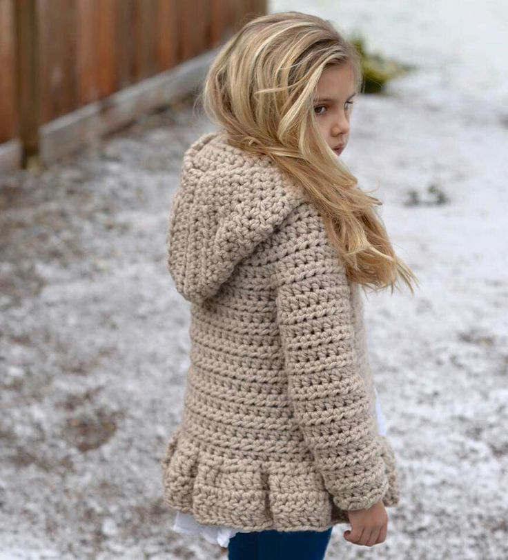 •••The Veilynn Sweater•••A new crochet design released today•••The sweater is hooded with a button front closer. The small ruffle along the bottom adds just a bit of feminine touch, however the ruffle can be omitted and the hooded sweater would then be gender neutral•••Perfect to keep warm during these chilly weather months•••Pattern can be found here: https://www.etsy.com/shop/Thevelvetacorn http://www.ravelry.com/designers/heidi-may Warm wishes, The Velvet Acorn ♥