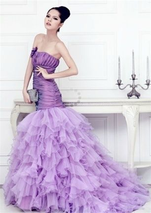 Wedding Dress Fantasy - Purple Wedding Dress available in every color, $795.00 (http://www.weddingdressfantasy.com/purple-wedding-dress-available-in-every-color/)