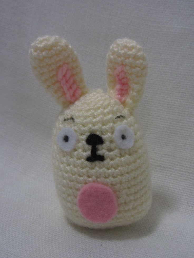 Little bunny key ring
