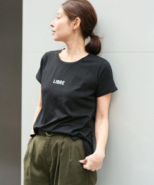 【ZOZOTOWN】LEPSIM(レプシィム)のTシャツ/カットソー「スリットロゴプリントT/SS 747350」(747350)を購入できます。