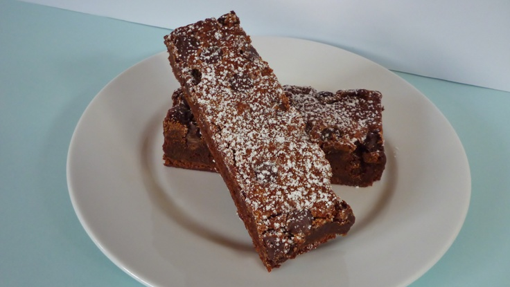 Bittersweet Chef Baking Recipes - Easy to make chocolate fudge brownies.