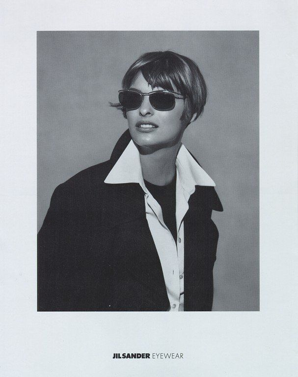Jil Sander: the godmother of #CORPORATECASUAL and the queen of elegant minimalism. 90's Jil Sander ads emobdied clean chic, continuing into the new millenium under Raf Simons. With McDeans, Knights, and Vanderperres behind the camera and Lindas, Ambers, and Laras in front of it, how could the results prove anything less than iconic?
