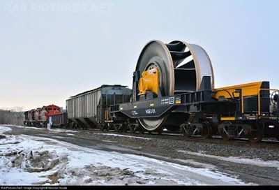 Industrial History: Allis-Chalmers Francis Turbine and Freight Car