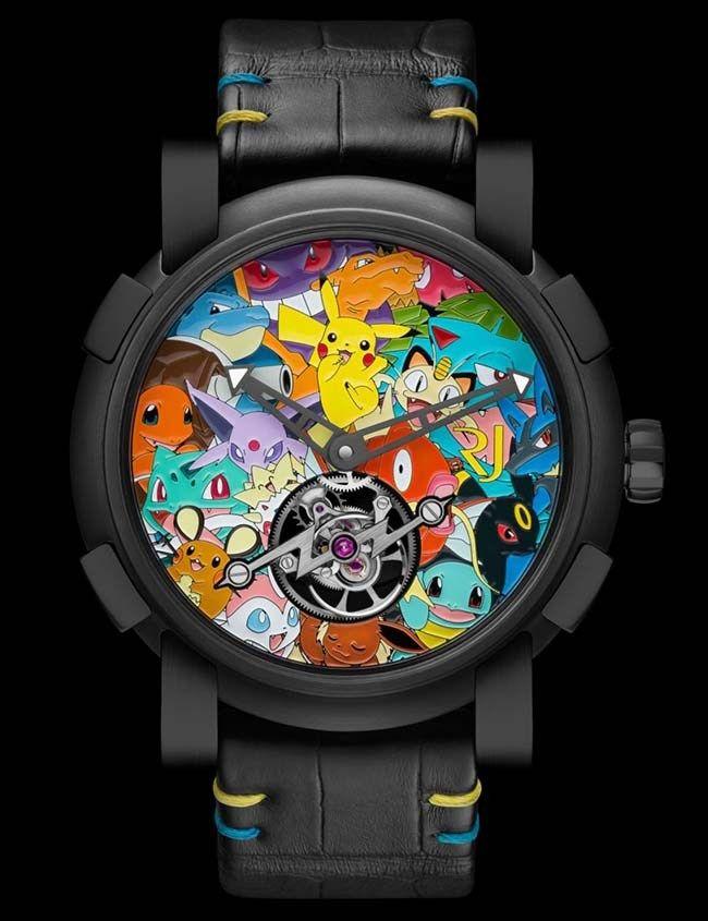 Romain Jerome Tourbillon Pokemon  #romainjerome #pokemon #pikachu #tourbillion #unique #craftmanship #luxuryes