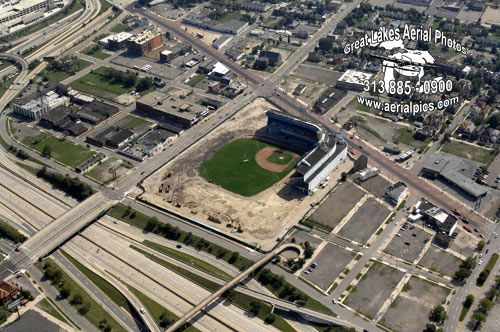 #52 Tiger Stadium Demolition September 20, 2008 ©