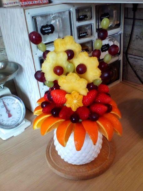 ovocná kytice - fruit flower