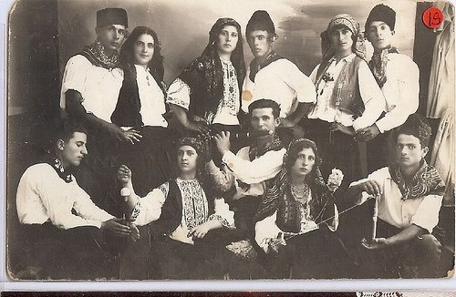 Love this old photo of Jewish Greece- reminds me of a similar NY one my own grandparents were in....only they all looked like gangsters & flappers