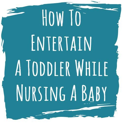 I can't even imagine how I'd do it now with a toddler too! Good info for down the road!
