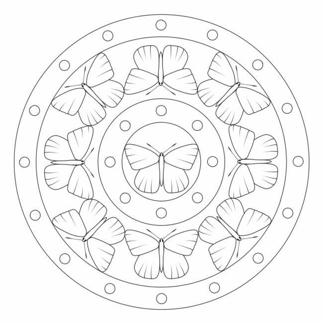 Pin By Malgorzata Wache On Color Me Sweary Coloring Pages Mandala Coloring Pages Butterfly Mandala Mandala