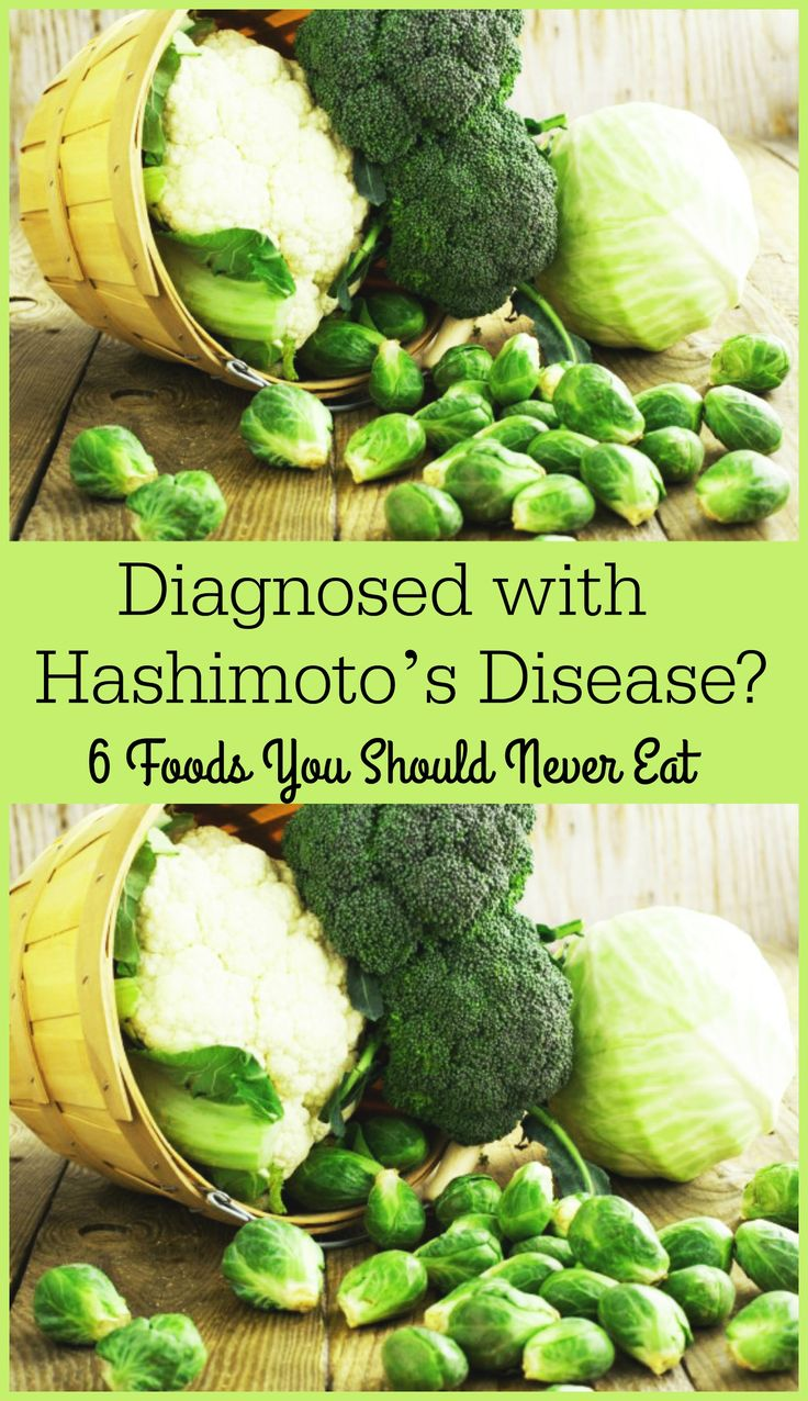 6 Foods to Avoid If You Have Hashimoto's Disease