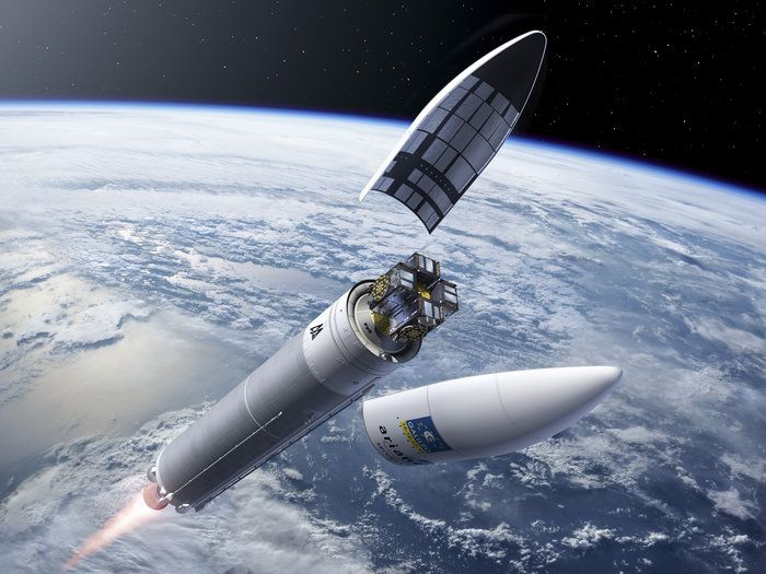 This month, a single Ariane 5 rocket is set to propel four Galileo satellites into orbit for the navigation constellation's first-ever quadruple launch.